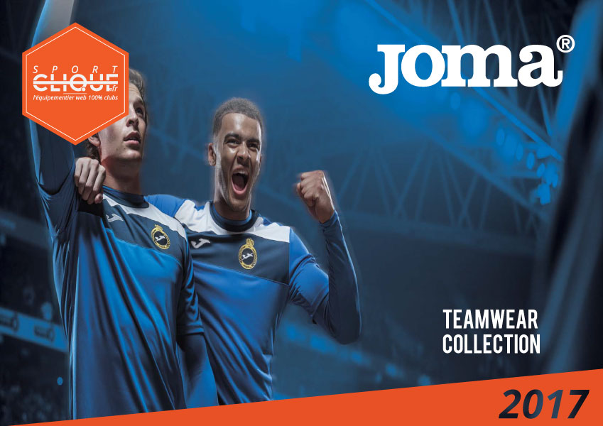 Joma - Catalogue Teamwear France 2017