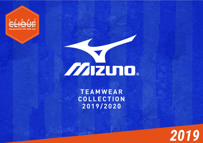 Mizuno Team - Catalogue France 2019