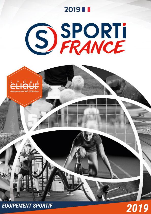 SportiFrance-catalogue 2019 matériel sportif clubs et collectivités